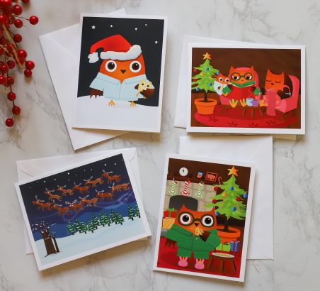 Little Hoo Christmas Cards