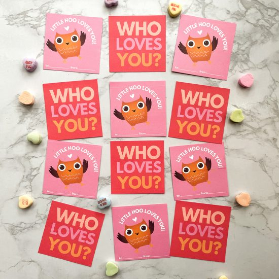 who loves you? Hoo loves you!